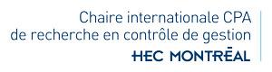 Chaire internationale CPA de recherche en contrôle de gestion Logo